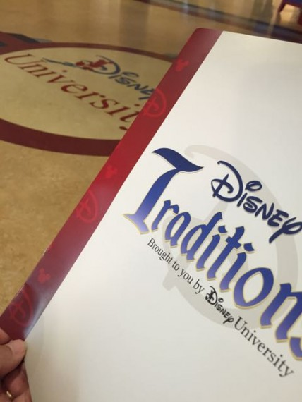 Disney Traditions Workbook