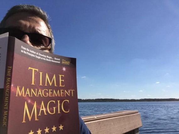 Lee Cockerell's Time Management Magic book