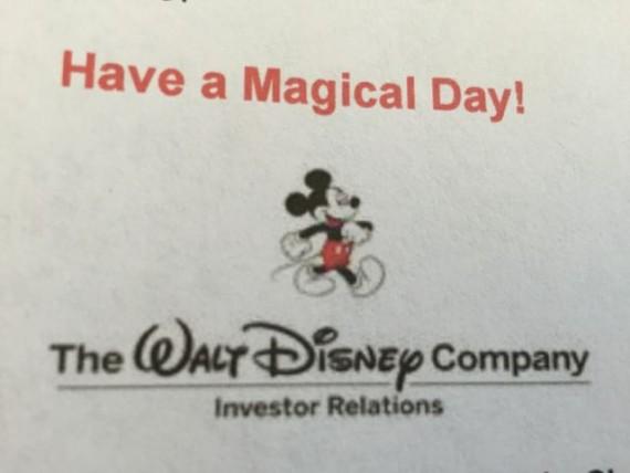 Walt Disney Company Investor Relations