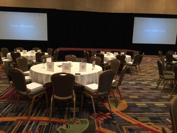 AV check at Marriott's Orlando World Center