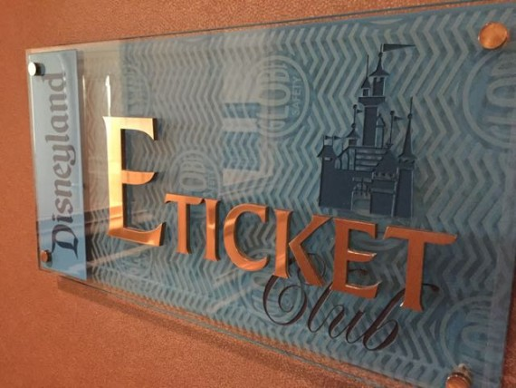 Disneyland Hotel Concierge ETicket Lounge