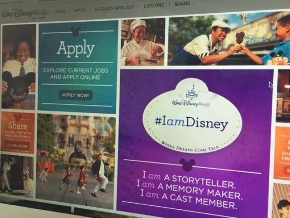Disney websites