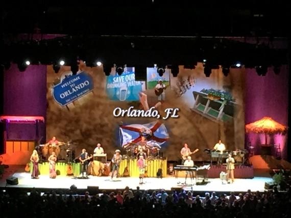 Jimmy Buffett Orlando concert 2015