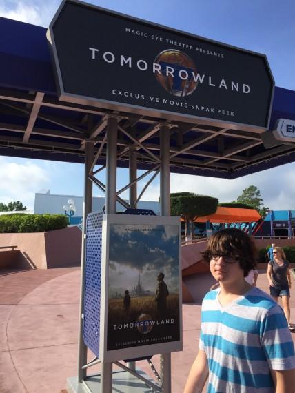 Disney's Tomorrowland movie sneak peak at Epcot
