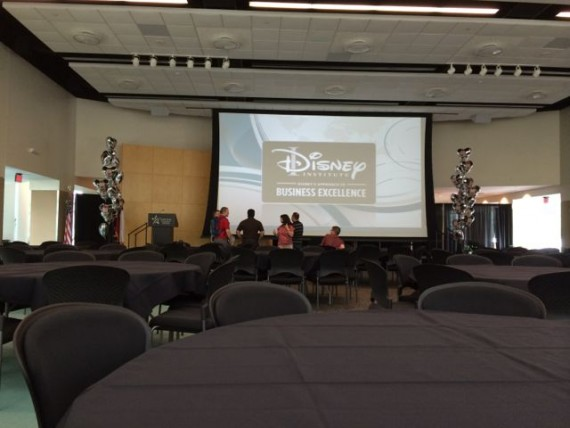 Disney Institute Sponsorship Program AV Check