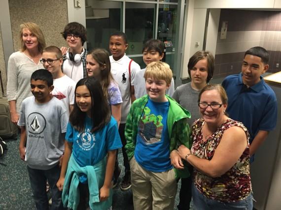 Montessori World Middle School class trip 2015
