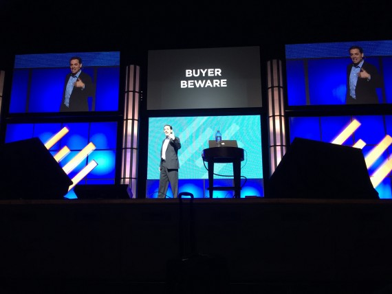 Daniel Pink speaking at Authority 2015