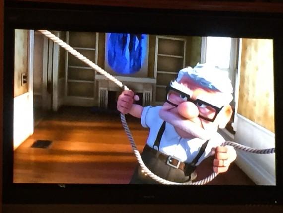 Mr Fredricksen from Disney Pixar UP