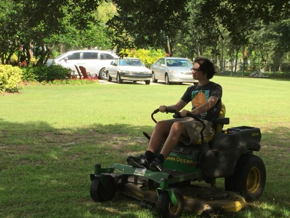 Florida lawn mower