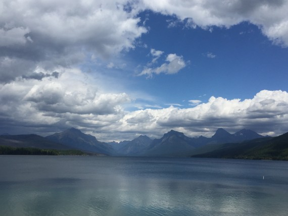 View of Lake McDonald from Village Inn at Apgar