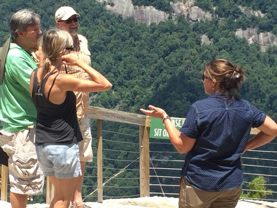 Exclamation Point at Chimney Rock