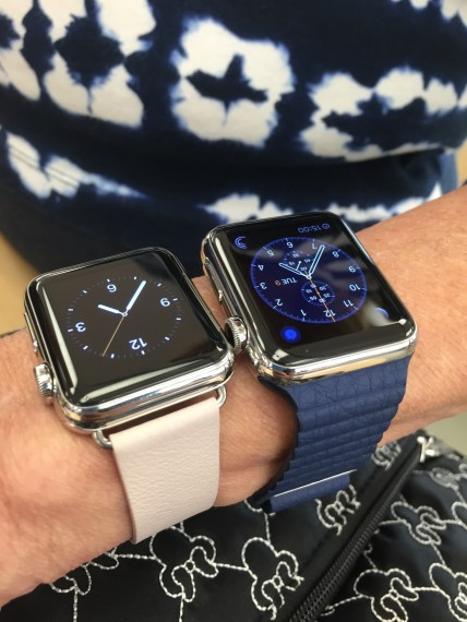 Apple Watch shopping