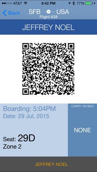 Allegiant airlines mobile app