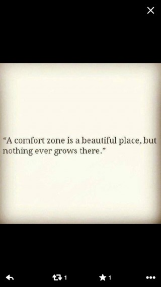 Quote about comfort zones