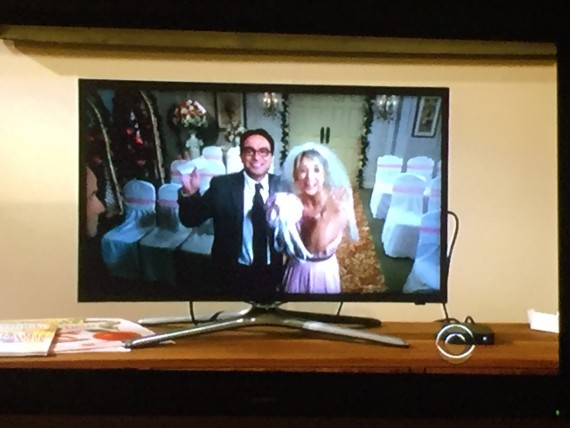 Leonard and Penny get married