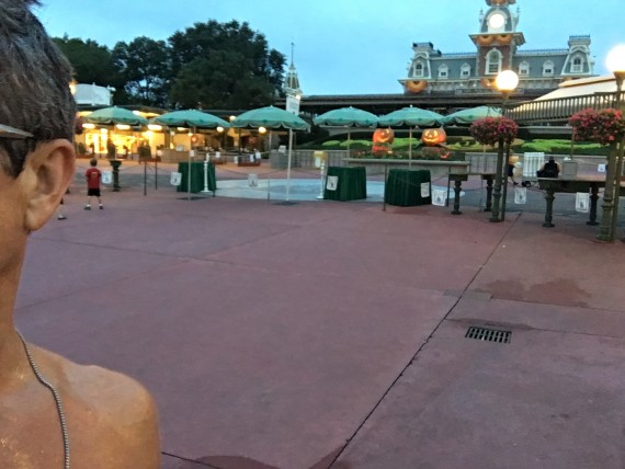 Magic Kingdom before opening