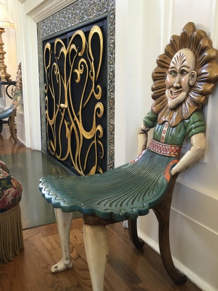Crazy carnival chair