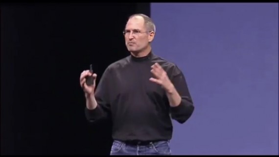 Steve Jobs unveiling the iPhone in 2007