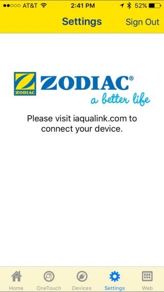 Zodiac pool app