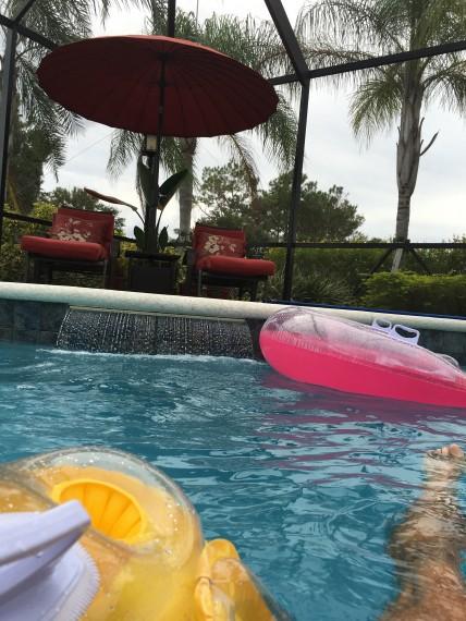 Florida homeowner swimming pool