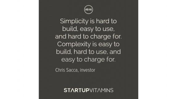 Simplicity wisdom