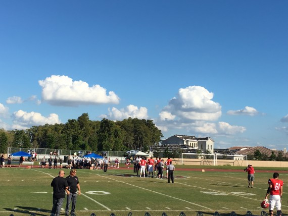 Windermere Prep High School Football game
