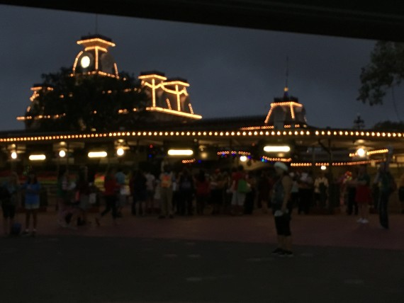 Magic Kingdom early morning entry