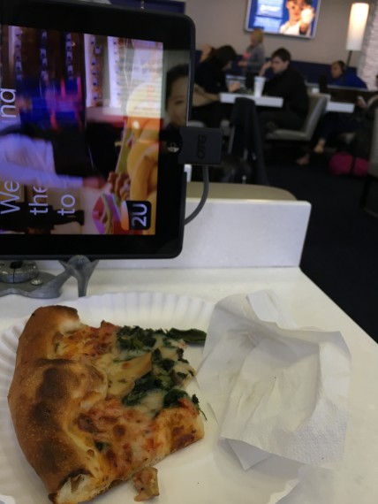 JFK Airport pizza