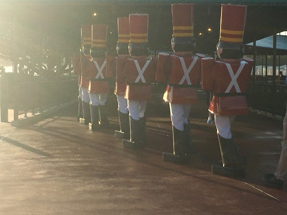 Disney Toy Soldiers marching