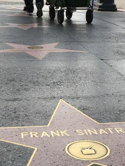 Frank Sinatra walk of fame star