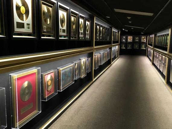 Graceland trophy room