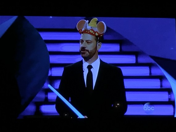 Jimmy Kimmel on Disneyland show