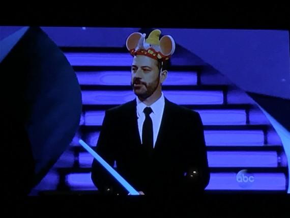 Jimmy Kimmel on Disneyland show