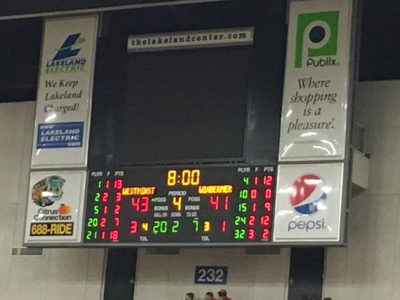 2016 Florida Class 3A basketball Final
