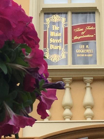 Lee Cockerell's Disney window on Main Street