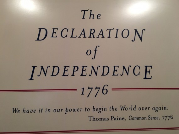 Declaration of Independence vision