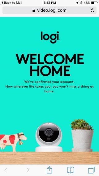 Logi Circle home security cameras