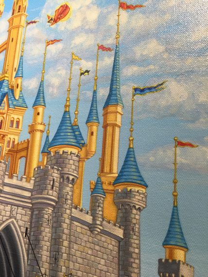 Cinderella Castle art