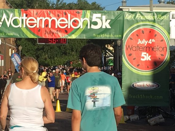 Track Shack Watermelon 5k 2016