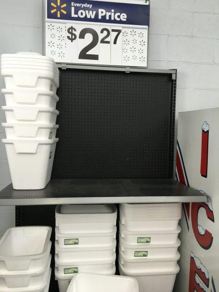 Walmart coolers