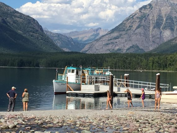 Lake McDonald boat dock