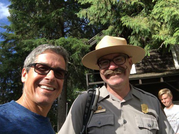 Glacier Park Ranger Tim