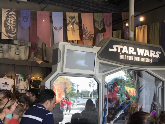 Disney Springs Star Wars store