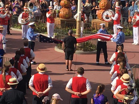Disney Flag Ceremony on September 11
