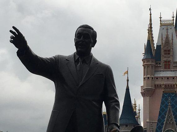 Walt Disney Partner's statue