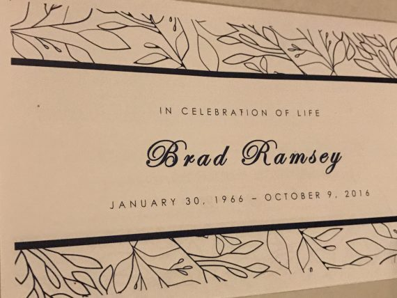 Brad Ramsey tribute