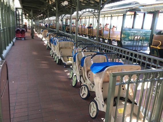 Disney stroller process