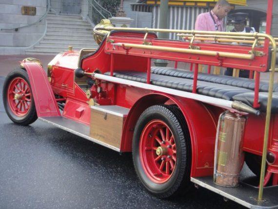 Disney fire truck