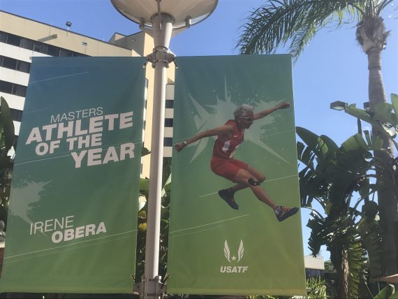 Masters Athlete of the year 2016