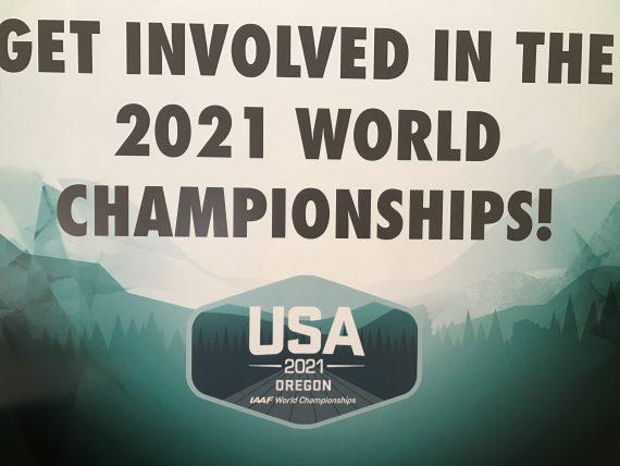 IAAF 2021 World Championship volunteering